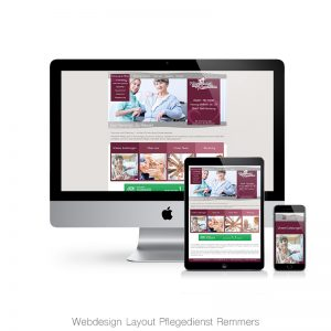Webdesign Remmers Pflegedienst