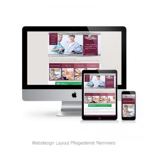 Webdesign Remmers Pflegedienst