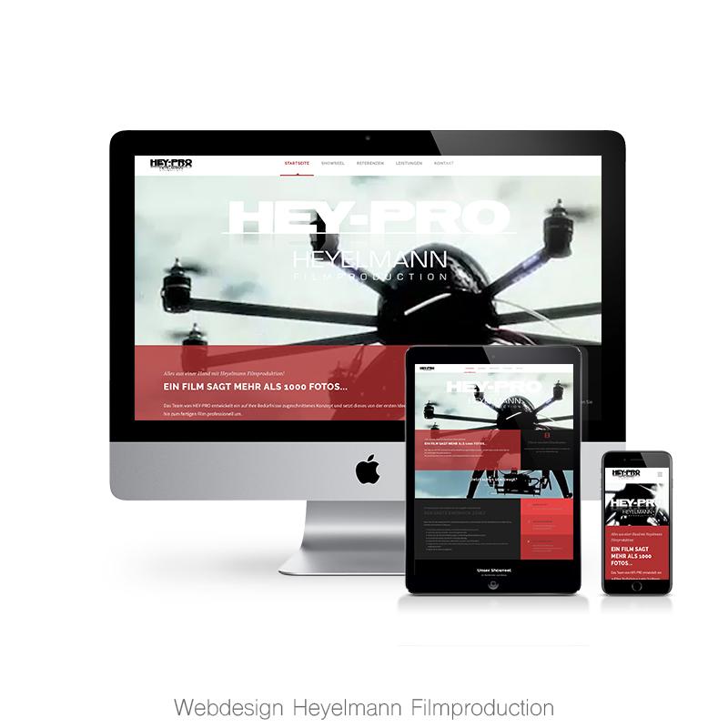 Webdesign hey-pro