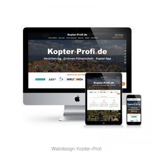 Kopter-Profi Webdesign